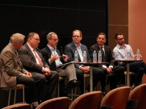 Panelists at IGP event
